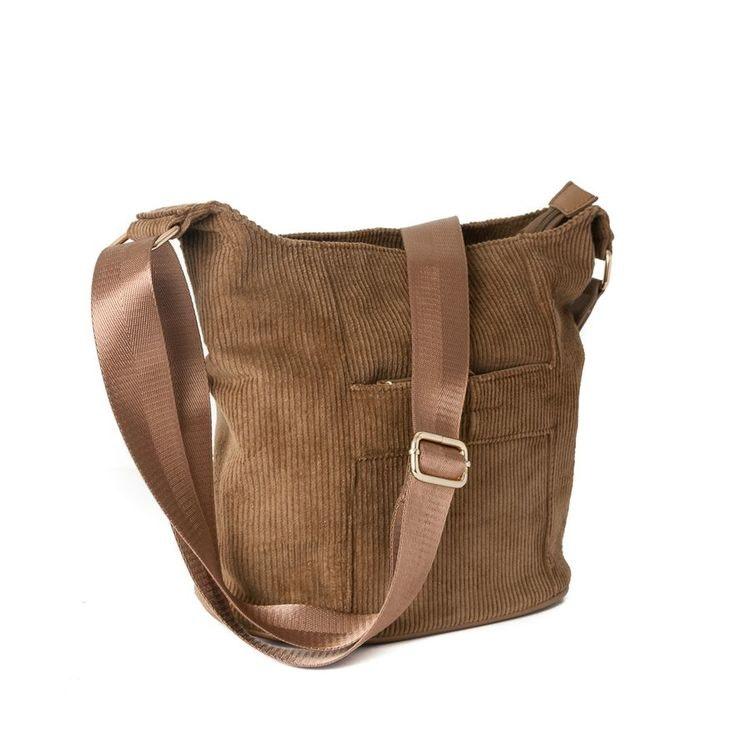 Crossbag manchester brun