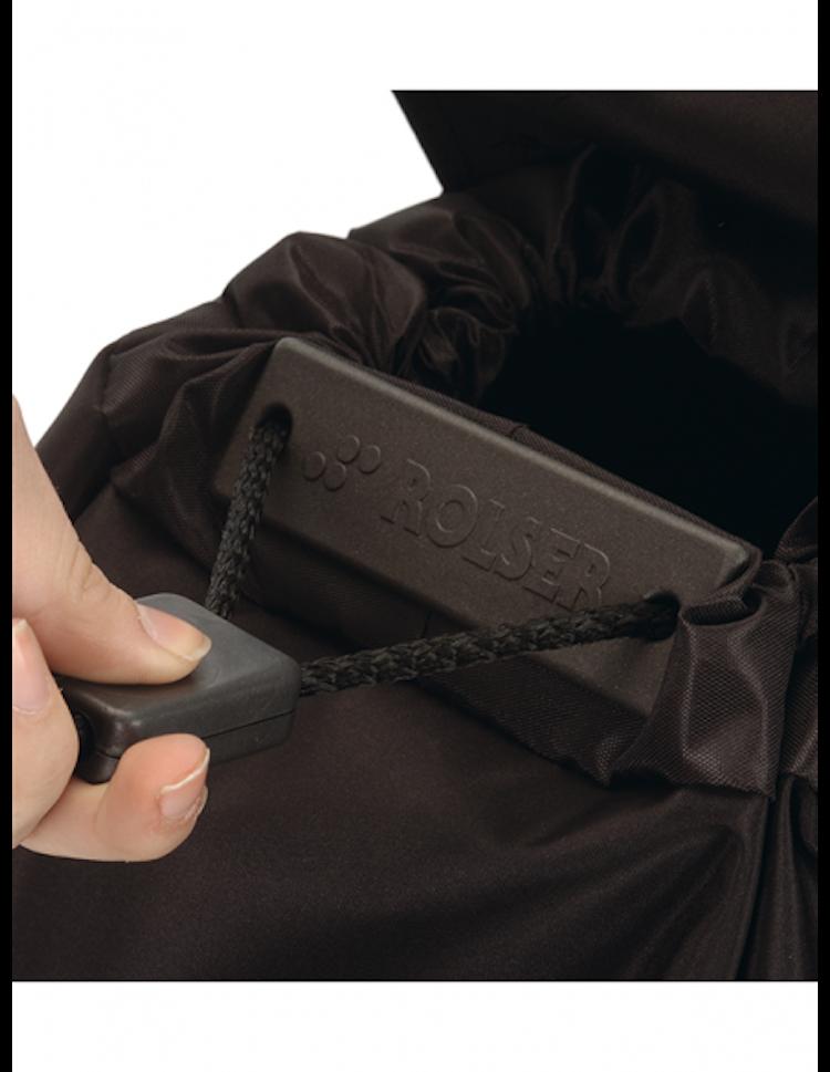 Shoppingvagn Rolser RG Imax Tweed Negro stängning