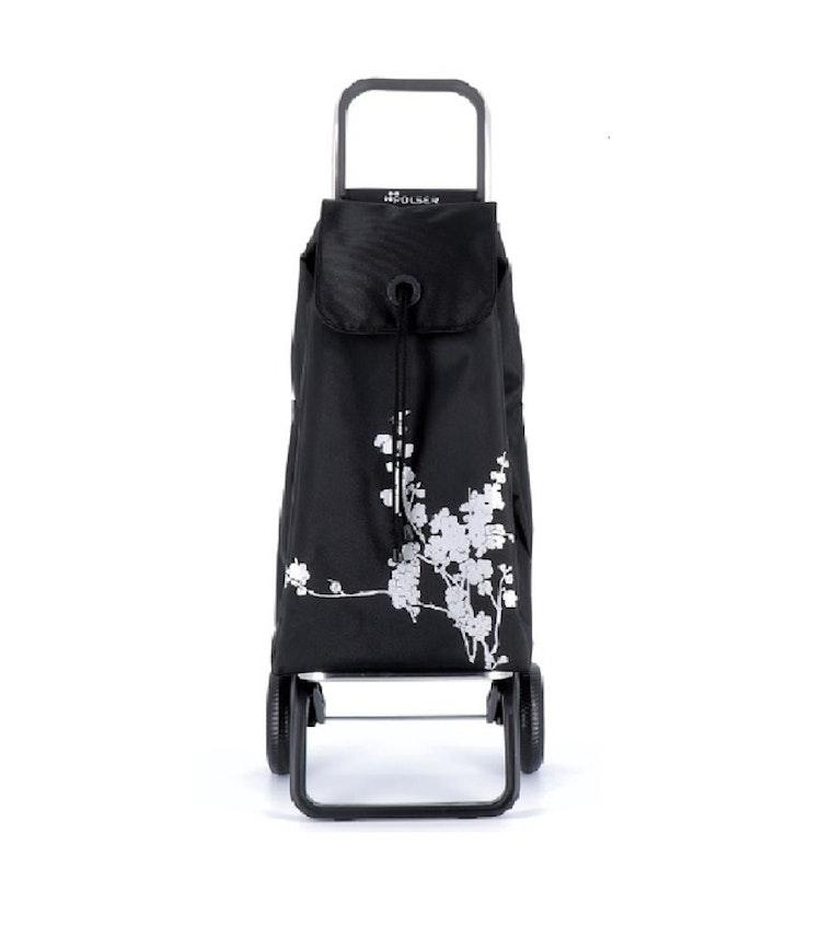 Dramaten Väska RG Nitt Imax Blanco svart med silver mönster