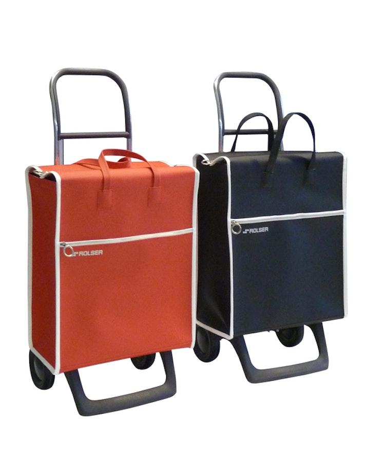 Shoppingvagn Rolser RG Lider röd retro