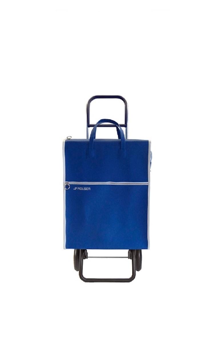 Shoppingvagn Rolser RG Lider blå retro