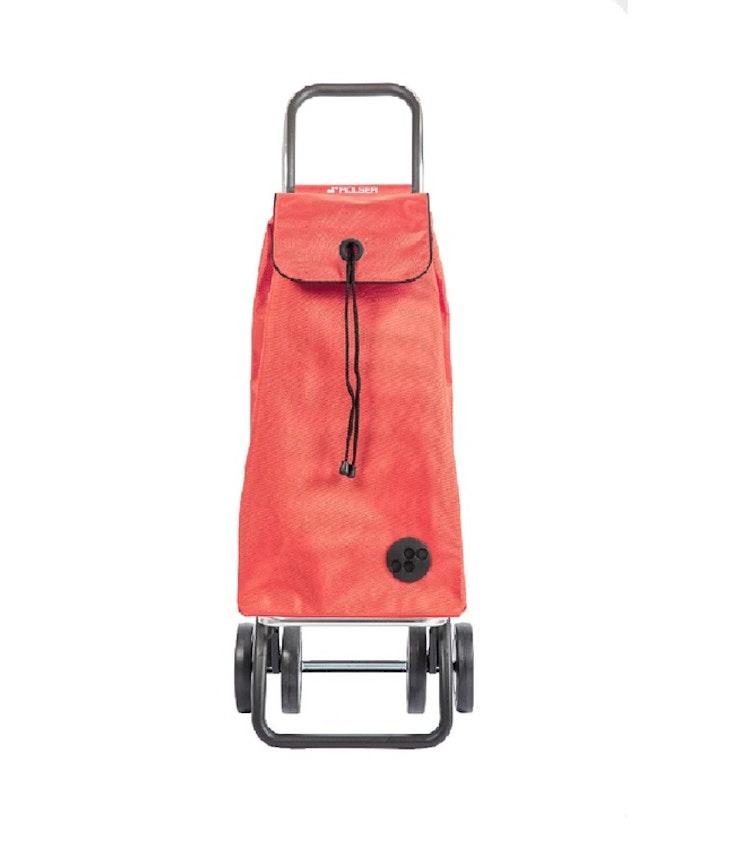 Dramaten väska Rolser 2+2 MF korall/aprikos