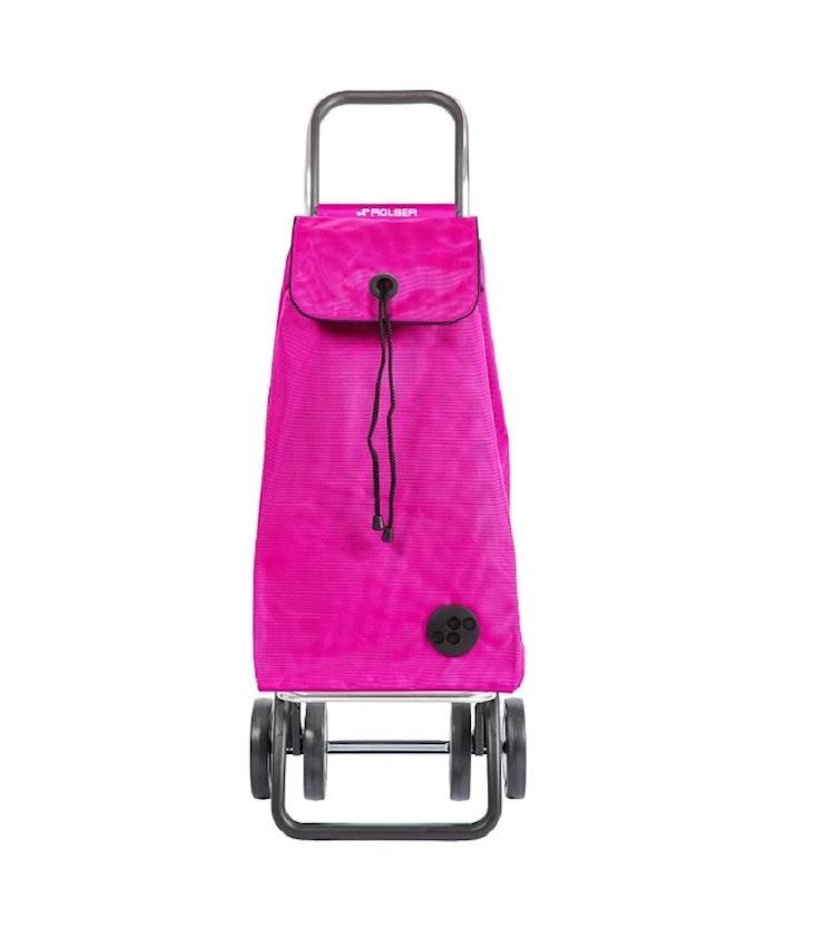 Dramaten väska Rolser 2+2 MF rosa fuchsia