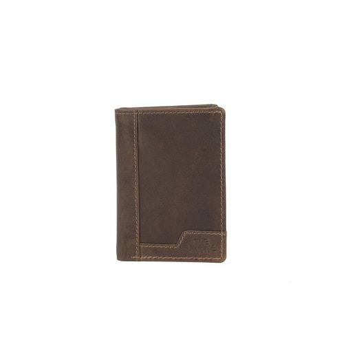 Kortfodral skinn brun The Monte 62845
