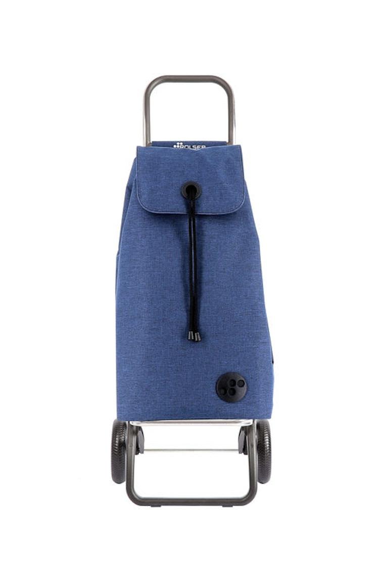 Shoppingvagn Rolser RG Logic Tweed blå