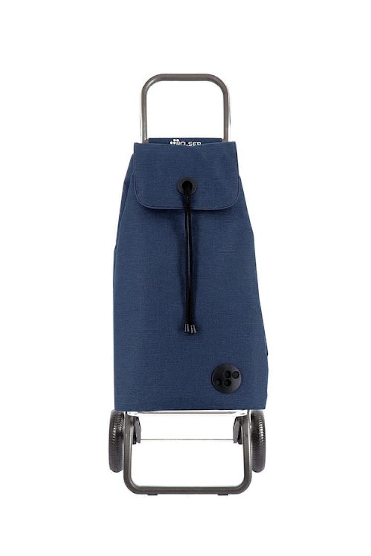 Shoppingvagn Rolser RG Logic Tweed marinblå