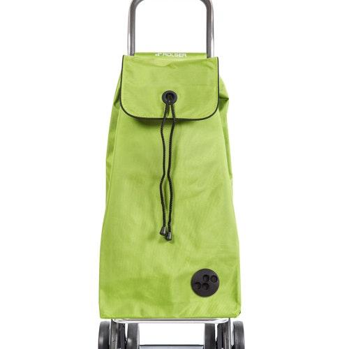 Shoppingvagn Rolser 2+2 Logic Imax MF limegrön
