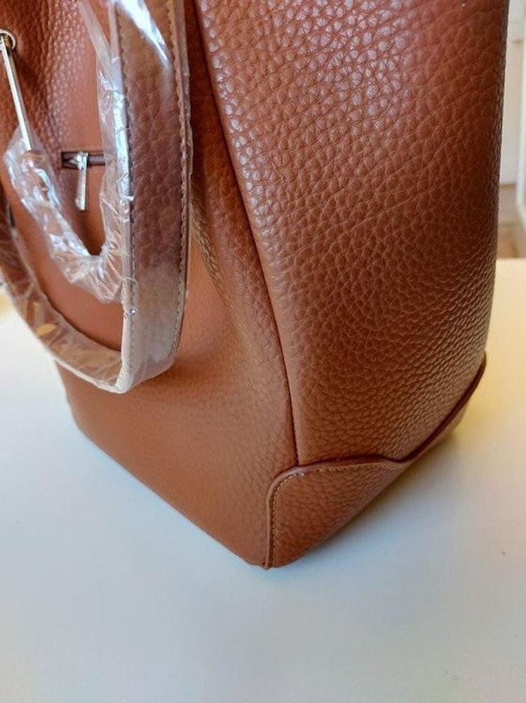 NYPD Väska  brun cognac
