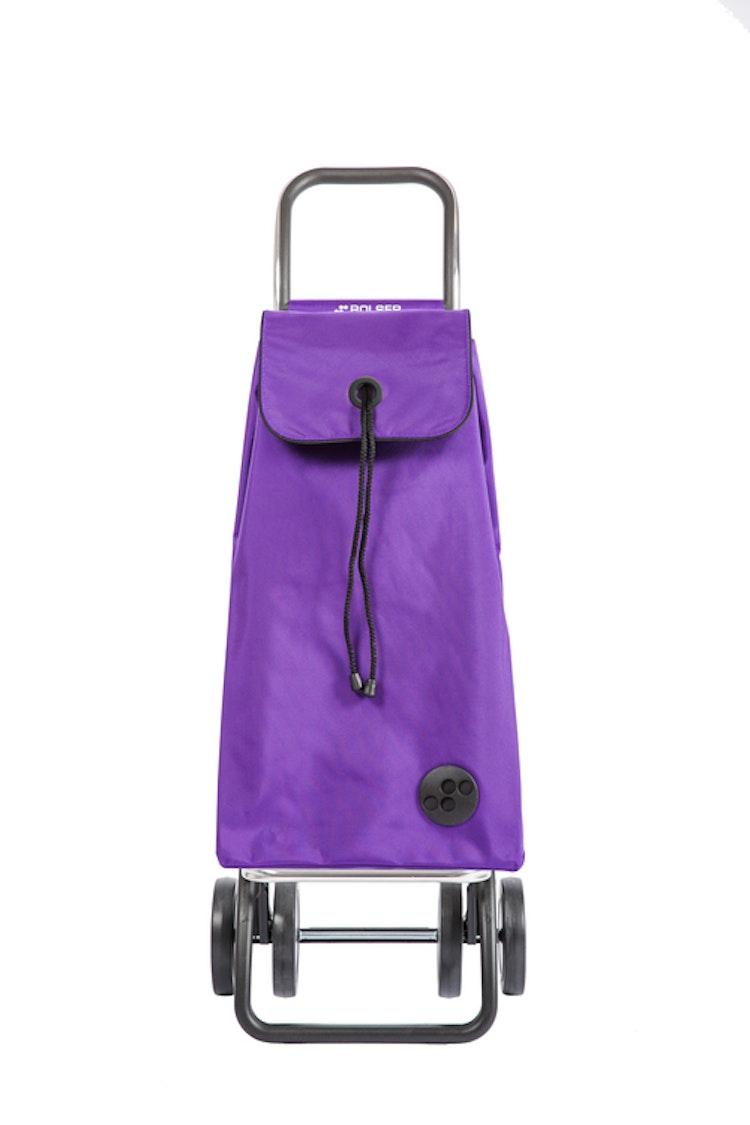 Dramaten väska på 2 hjul väska i lila