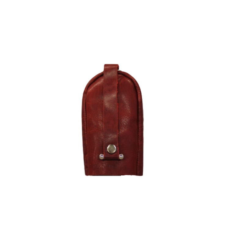 Nyckelfodral läder rött