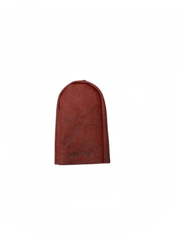 Nyckelfodral Klockmodell brunt läder