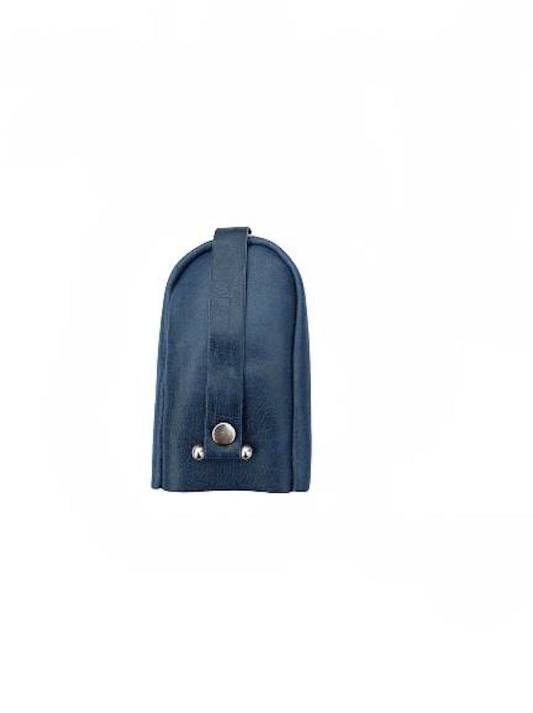 Nyckelfodral läder blått