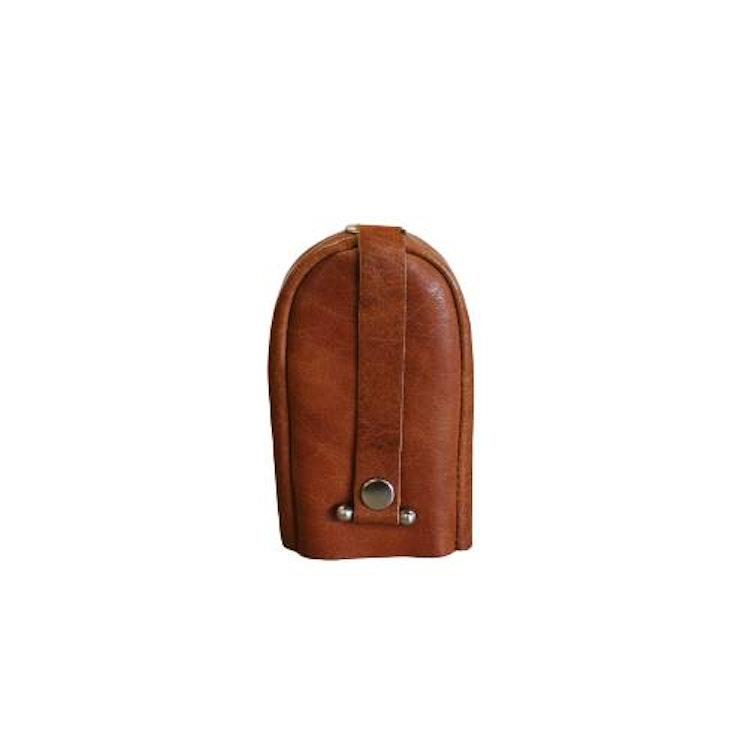 Nyckelfodral läder cognac