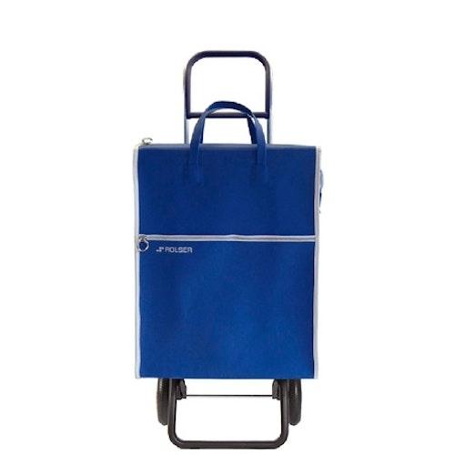 Shoppingvagn Rolser 2+2 Lider blå Retro