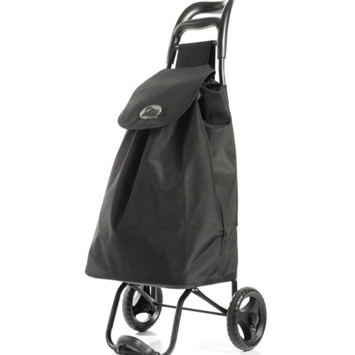 Shoppingvagn City X Shopper Ergo Svart