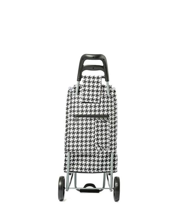 Shoppingvagn CityXShopper Ergo Svart&Vit