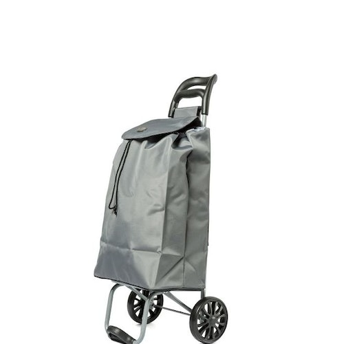 Shoppingvagn City X Shopper Ergo Silver Grå