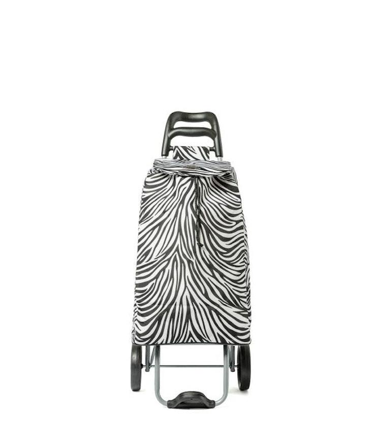 Shoppingvagn City X Shopper Zebra-svart/vit Epic
