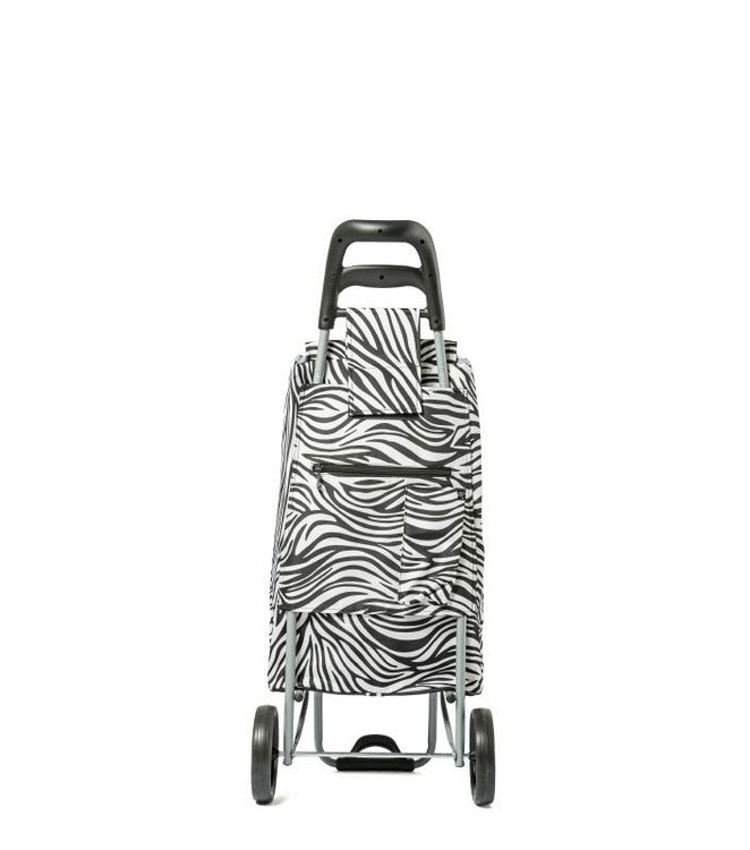 Shoppingvagn CityXShopper Zebra-svart/vit Epic