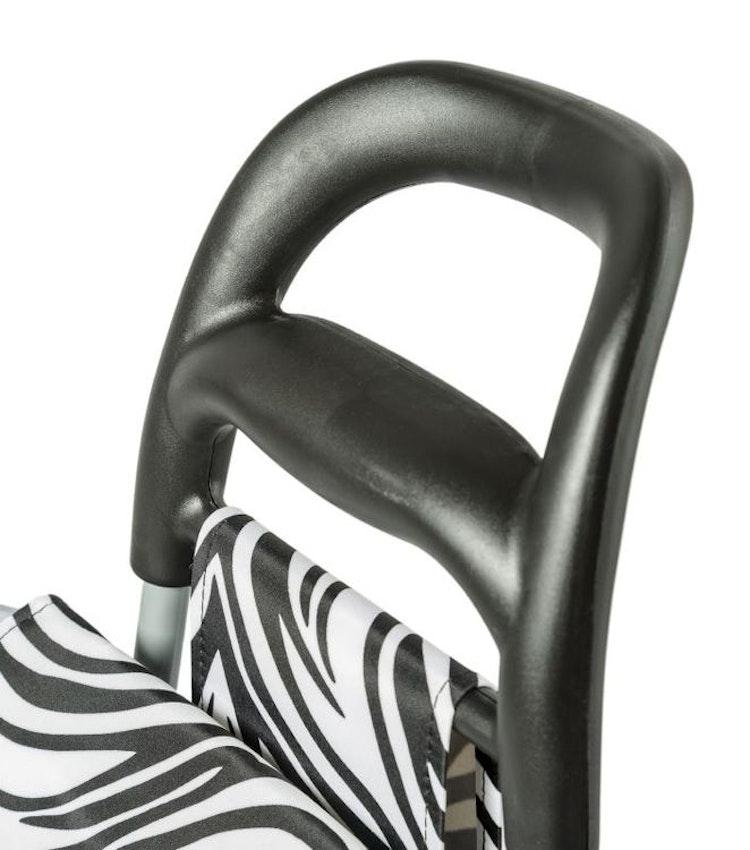 Dramaten väska Epic zebra svart vit