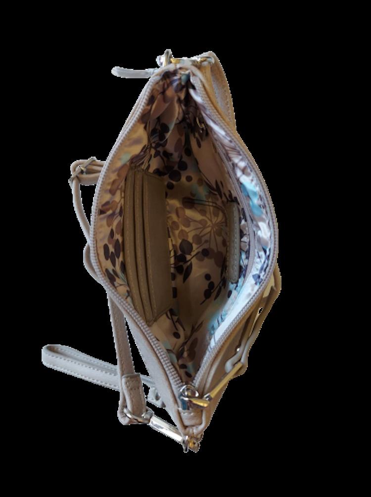 Handväska Ulrika design, 35-8724 blå