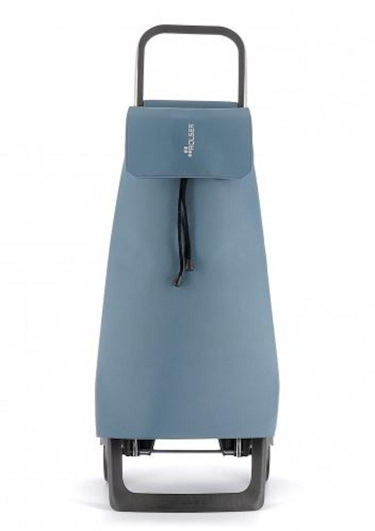 Dramaten väska på två hjul hopfällbar nederdel med väska Jet LN Havsblå