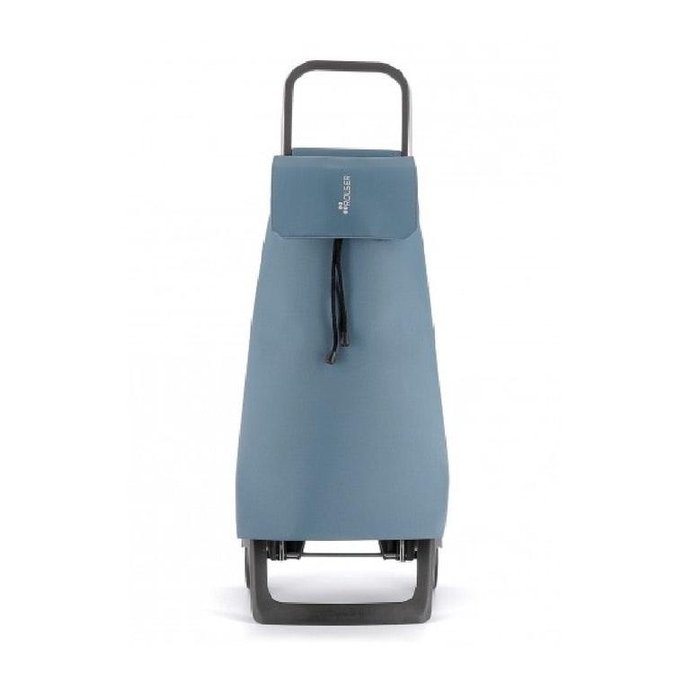 Dramatenväska på två hjul hopfällbar nederdel med väska Jet LN Havsblå