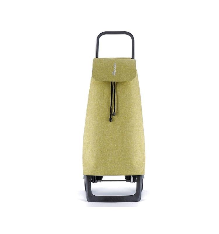 Dramaten väska på två hjul hopfällbar nederdel med väska i Tweed Ljus Grön