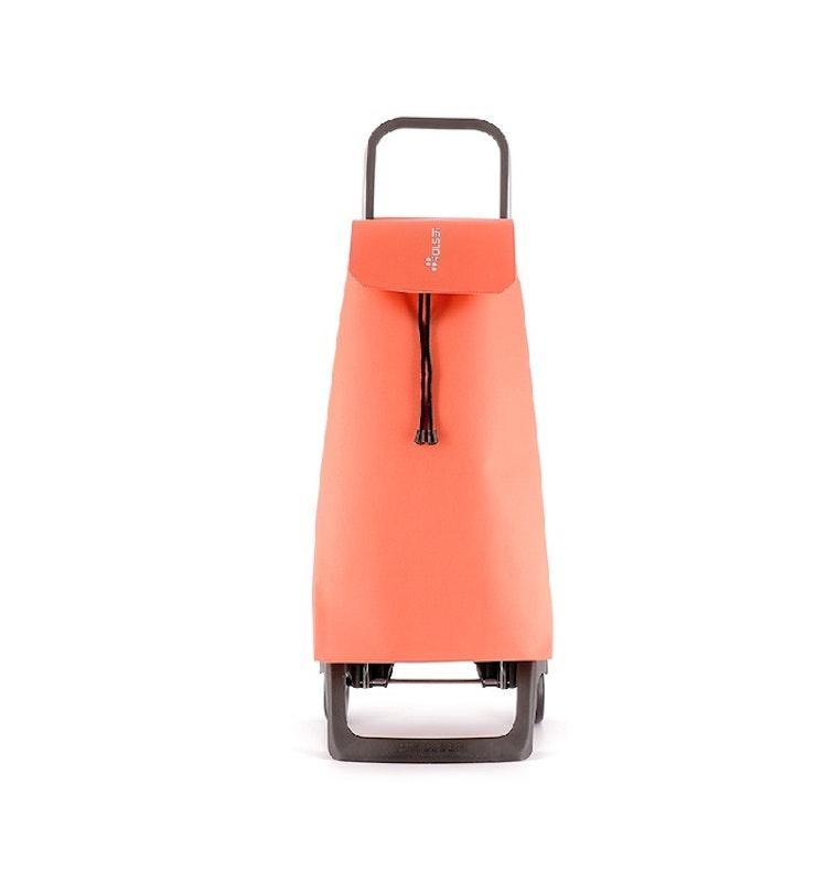 Shoppingvagn från Rolser modell Joy väska i tyget LN i färg aprikos