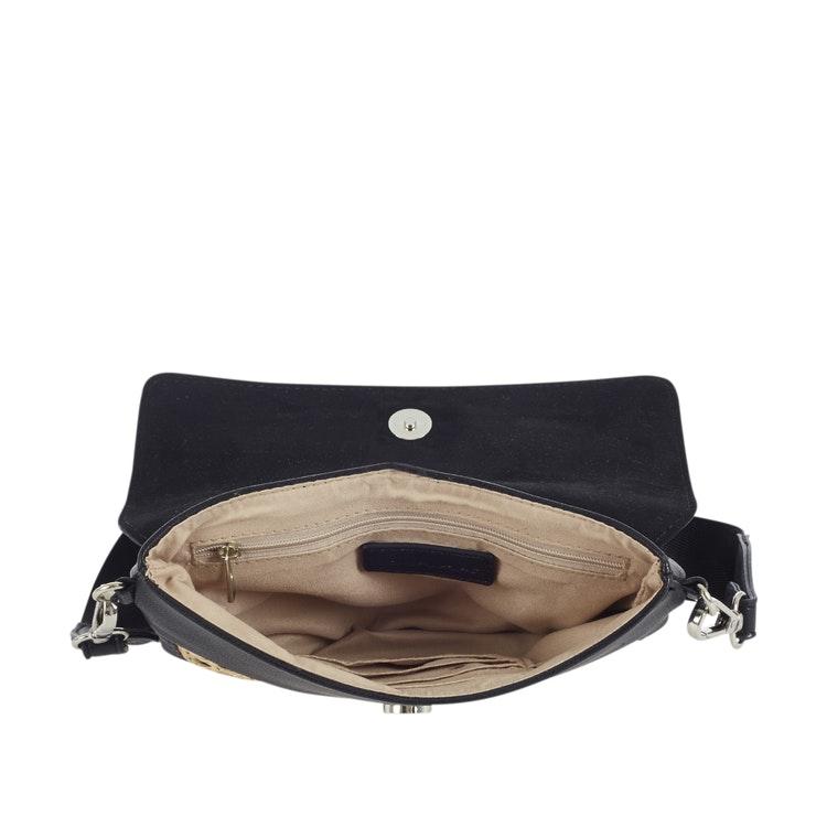 Rotting väska Ulrika Design liten svart med lock