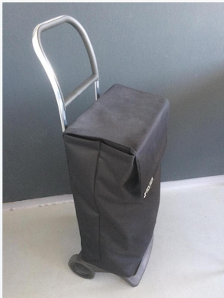 Fyrkantig väska Shoppingvagn Rolser Joy Neo svart