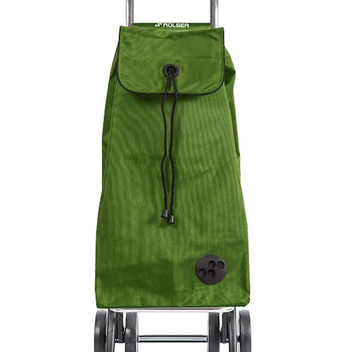 Shoppingvagn Rolser 2+2 Logic MF kakigrön