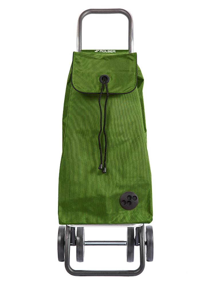 Shoppingvagn Rolser 2+2 Logic är vår absoluta favoritvagn. Dra den efter dig eller skjut den framför dig på fyra hjul. Tänk kundvagn så förstår du fördelarna av shoppingvagn på fyra hjul.