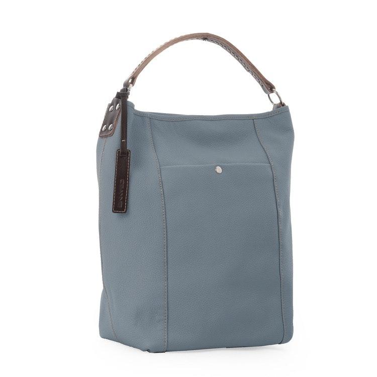 Axelväska Bucket Bag Ljusblå, Ceannis