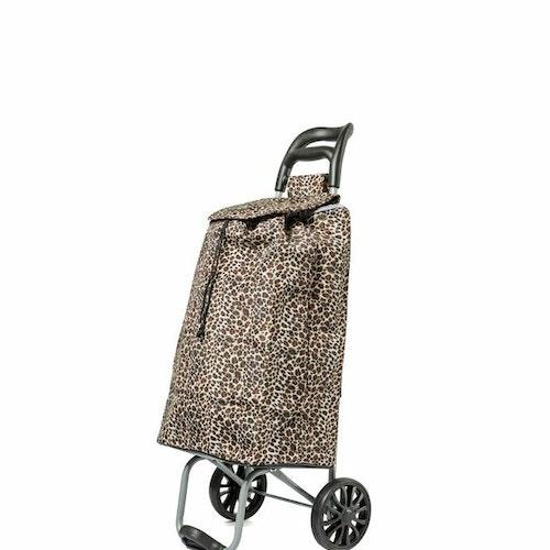 Shoppingvagn City X Shopper Ergo Leopard