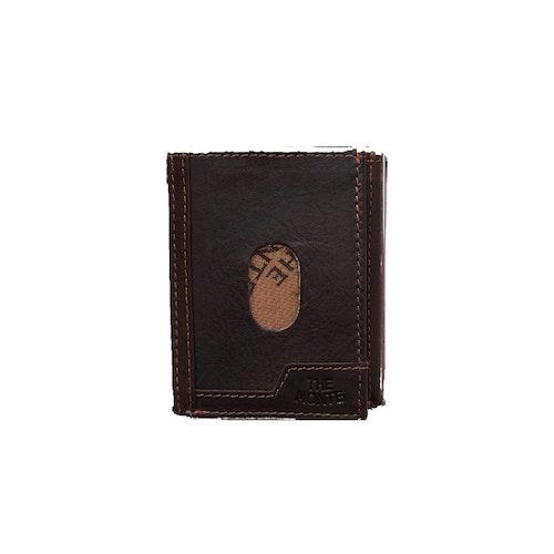 Kortfodral thumbsup skinn brun The Monte 62831