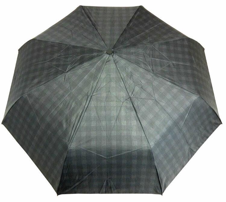 Paraply hopfällbart rutigt 161-L Dalarnas Paraplyer