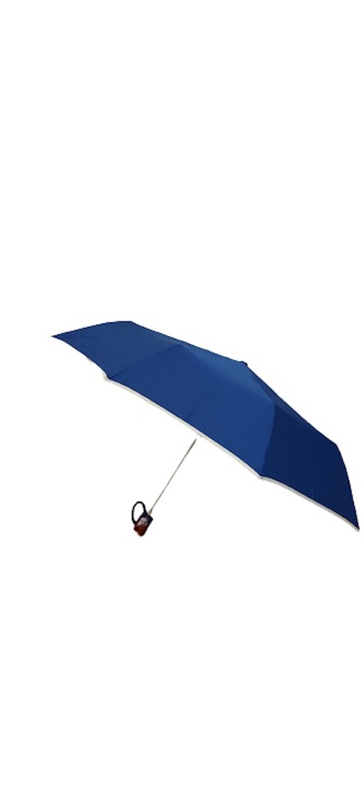 Paraply hopfällbart klarblått