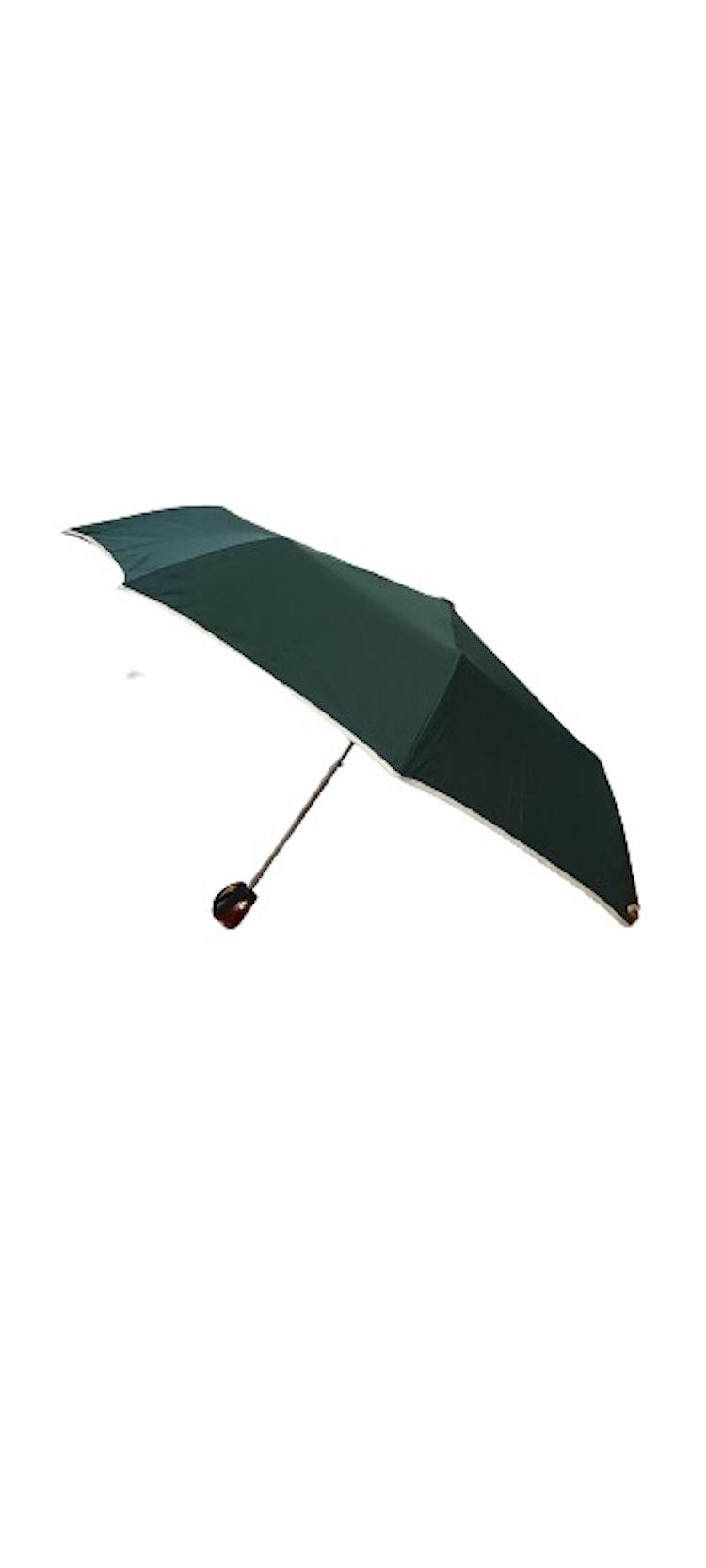 Paraply hopfällbart mossgrönt