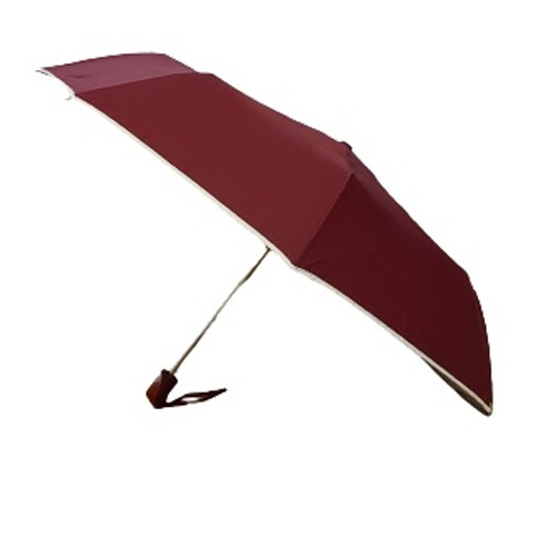 Paraply hopfällbart vinrött