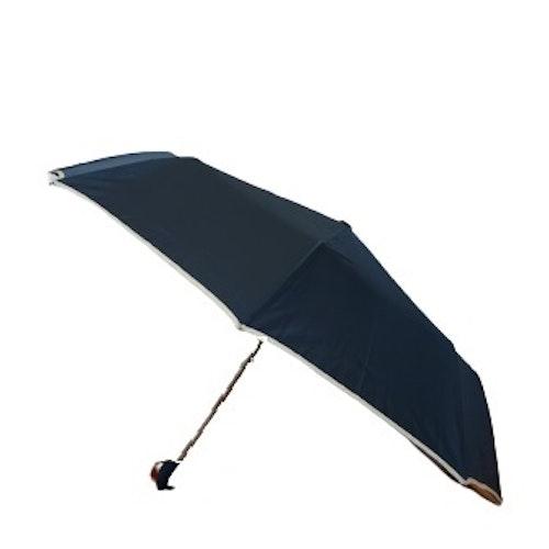 Paraply hopfällbart mörkblått