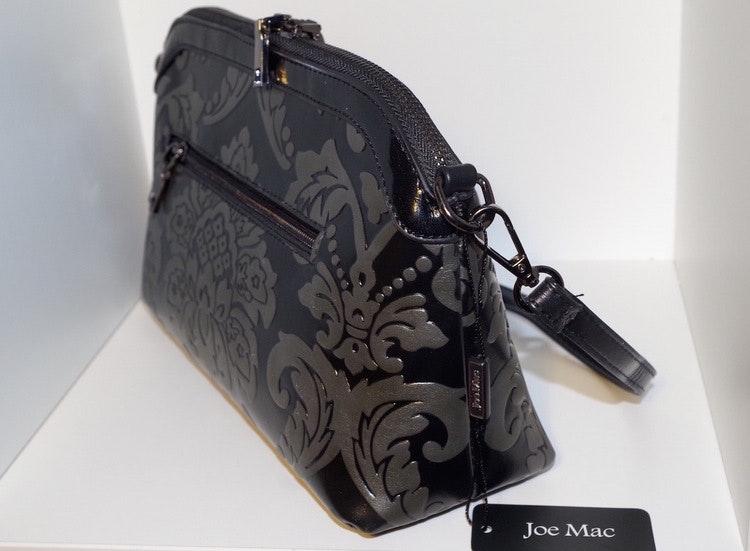 Handväska svart Cannes 018 Joe Mac