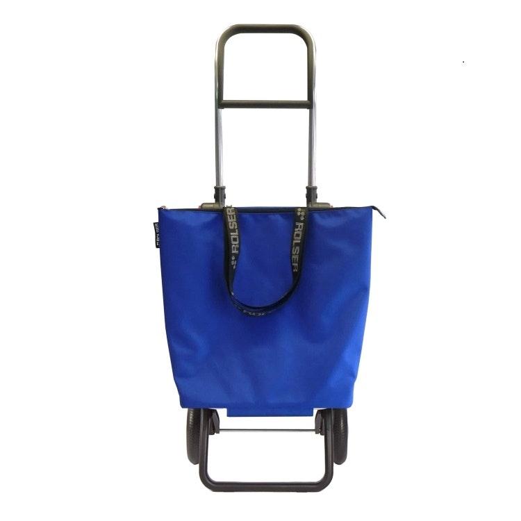 Shoppingvagn 2 hjul Minibag Rolser RG Logic Blå