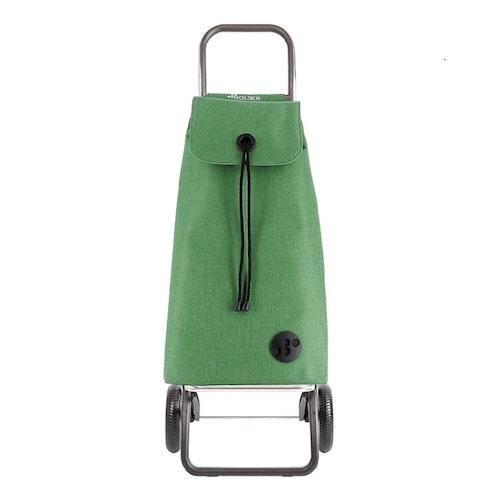 Shoppingvagn Rolser RG Logic Tweed Grön