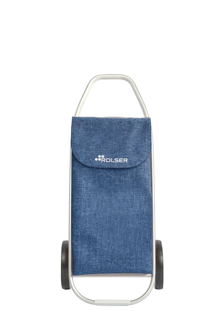 Storstadsvagn Shoppingvagn Rolser Com 8 melerad blå