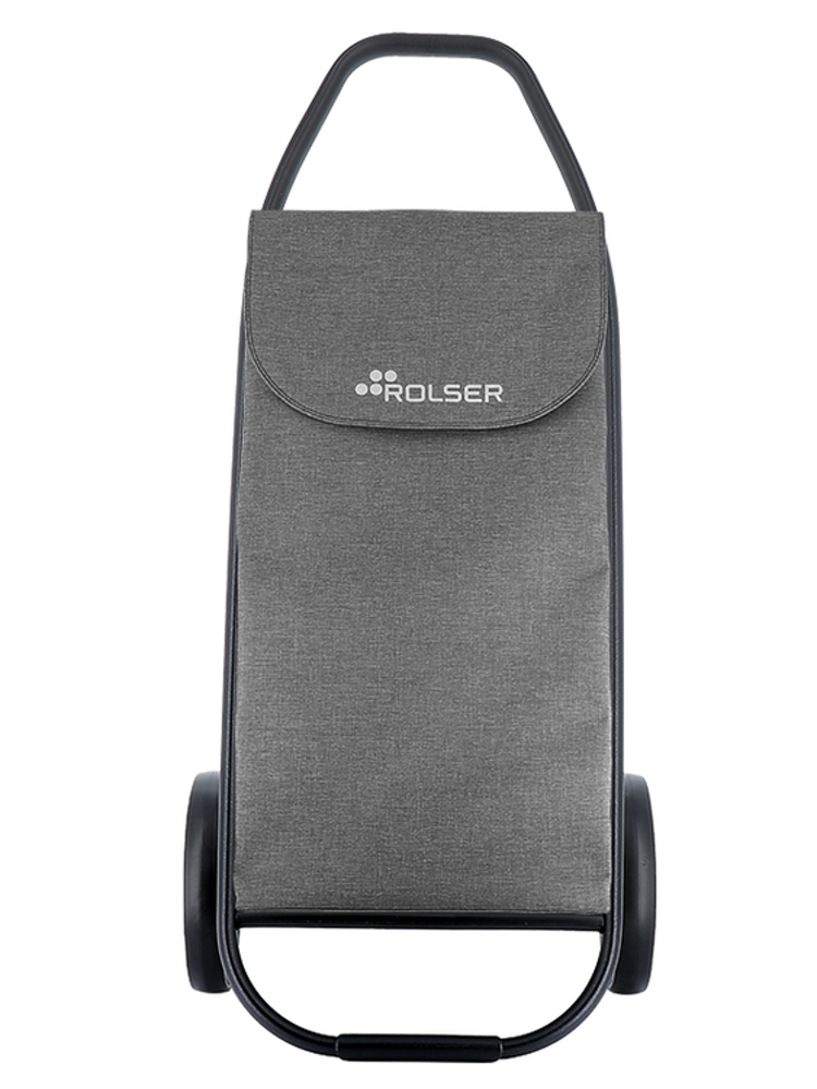 Shoppingvagn Rolser Com 8 Blacktube Tweed Grå