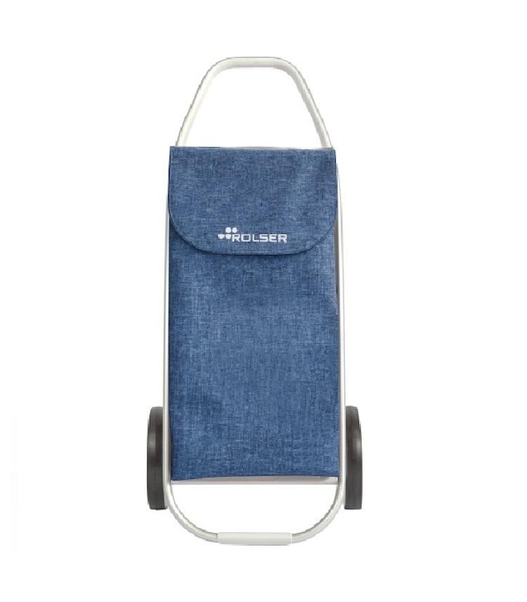 Shoppingvagn Rolser Com 8 melerad blå