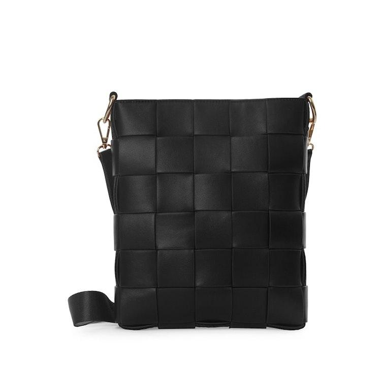 Axelväska Braided Strap Bag Svart från Ceannis 047119981