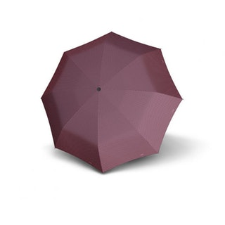 Paraply hopfällbart helautomatiskt vinrött med prickar Doppler 744865DT01