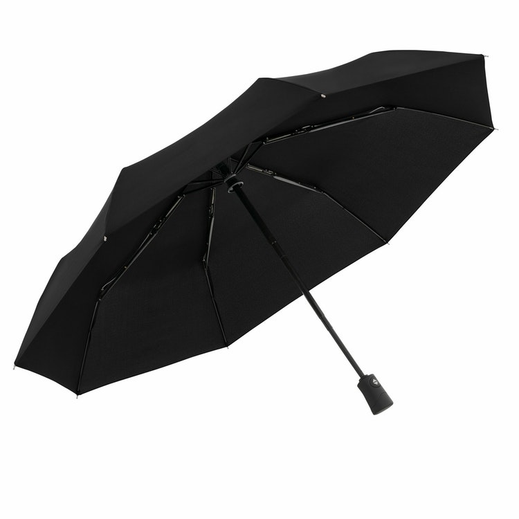 Svart paraply oförstörbart fickparaply från Doppler